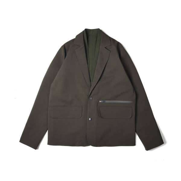 oqLiq x plain-me noragi two way suit - olive