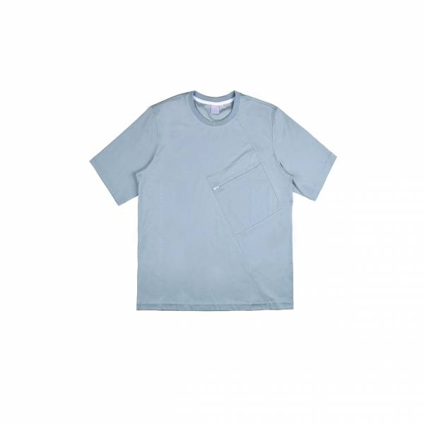oqLiq 2021SS - natural blessing - mutual tee - abyss green