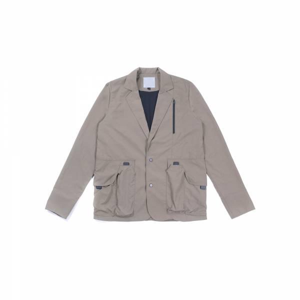 oqLiq 2021SS - natural blessing - tai chi pocket suit+ - khaki