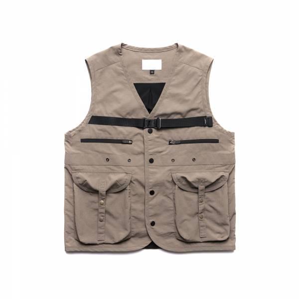 oqLiq 2021SS - natural blessing - gen vest - khaki