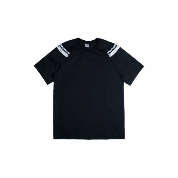 oqLiq 2020SS - omni direction - hundred circle tee - black
