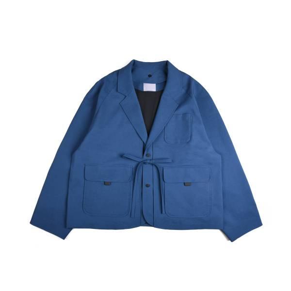 oqLiq x plain-me - noragi two way w suit - classic blue