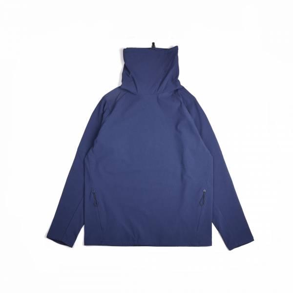 oqLiq 2020AW - omni direction - slash pullover - blue