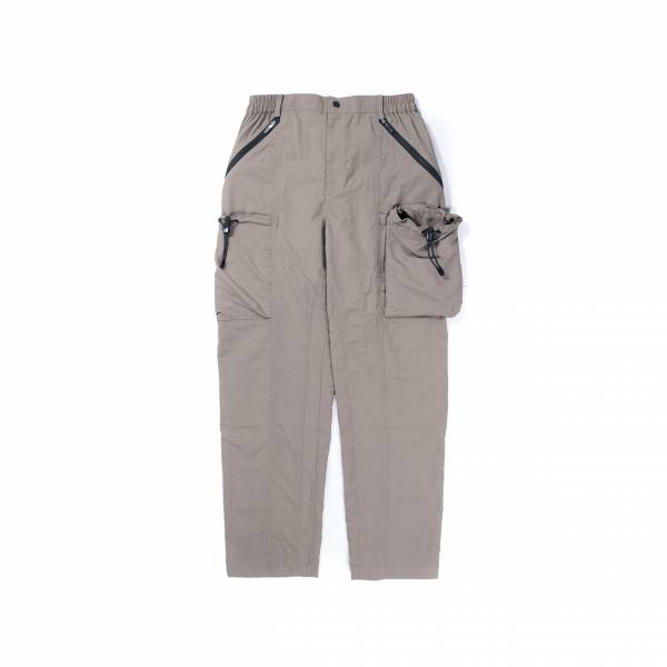 oqLiq 2021SS - natural blessing - drawstring pants - khaki