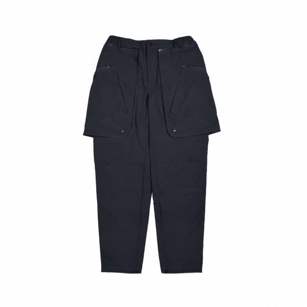 oqLiq 2021SS - natural blessing - mutual two way pants - black