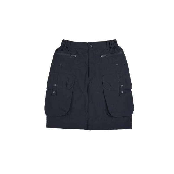 oqLiq 2021SS - natural blessing - gen shorts - black