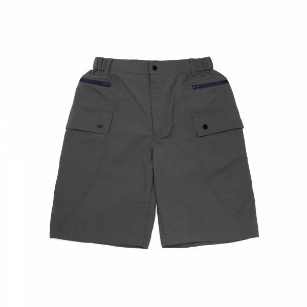 oqLiq 2021SS - natural blessing - meridian shorts - olive