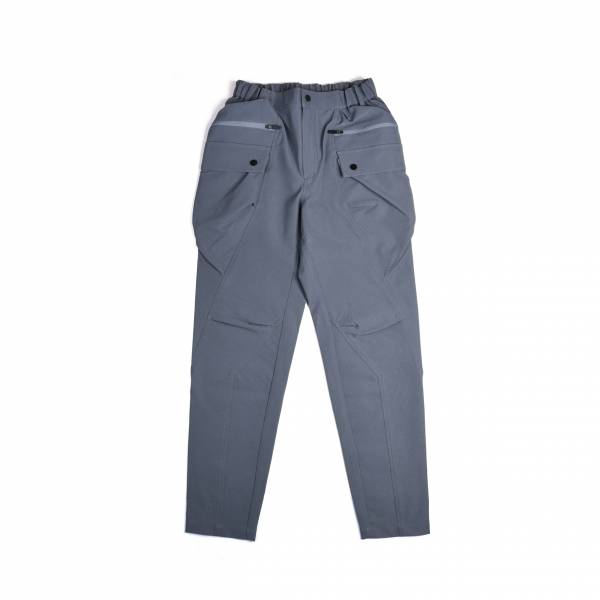 oqLiq 2020AW - omni direction - meridian pants - gray