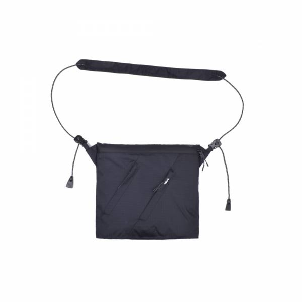 oqLiq - Project 06.2 - River sacoche bag - medium - black
