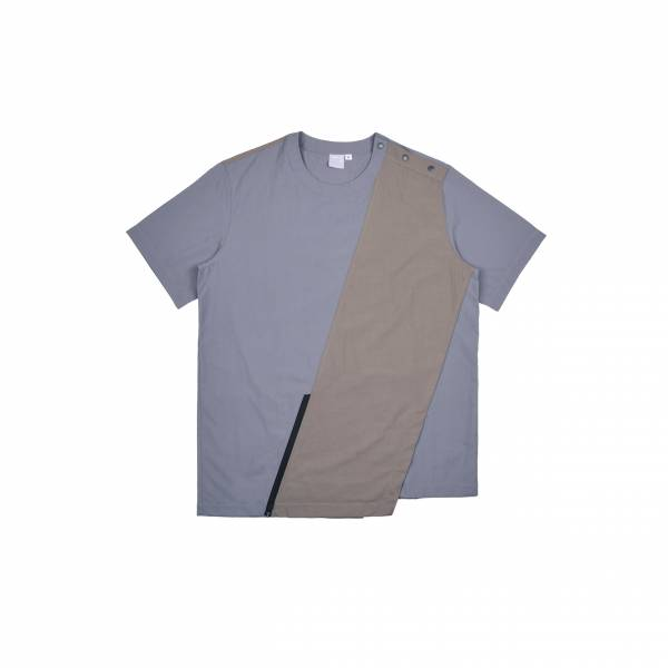 oqLiq 2021SS - natural blessing - fan woven tee