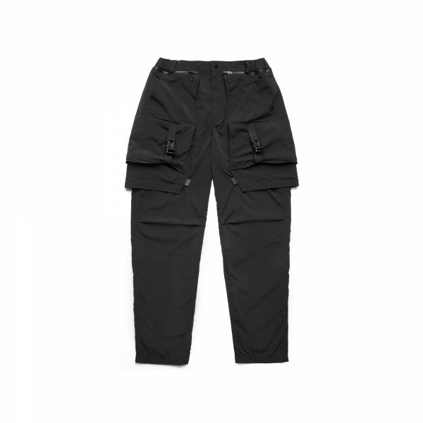 oqLiq 2021SS - natural blessing - side two way pants - black