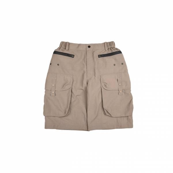 oqLiq 2021SS - natural blessing - gen shorts - khaki