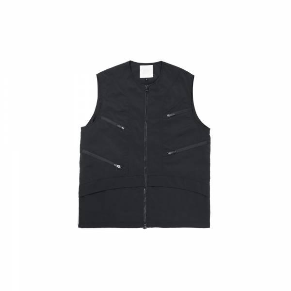 oqLiq 2021SS - natural blessing - non vest+ - black
