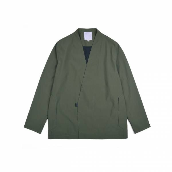 oqLiq 2021SS - natural blessing - point samue suit - green
