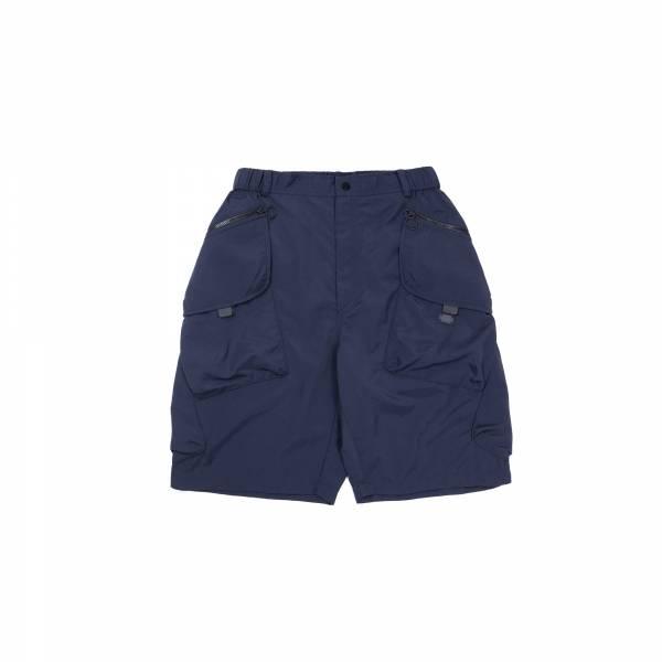 oqLiq 2021SS - natural blessing - tai chi pocket shorts - navy