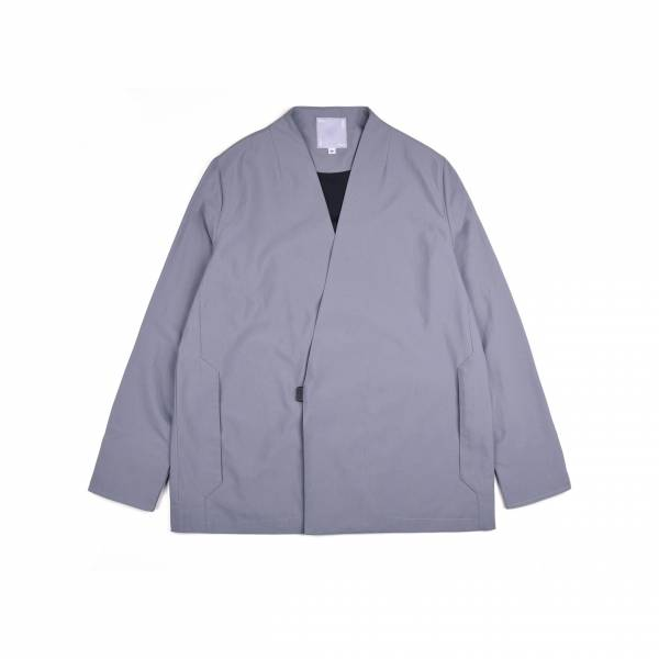 oqLiq 2021SS - natural blessing - point samue suit - gray