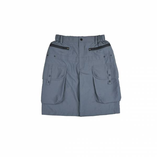 oqLiq 2021SS - natural blessing - gen shorts - mallard green
