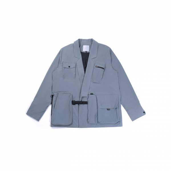 oqLiq 2021SS - natural blessing - adhere samue suit - skyblue