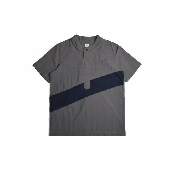 oqLiq 2020SS - omni direction - wave layer shirt