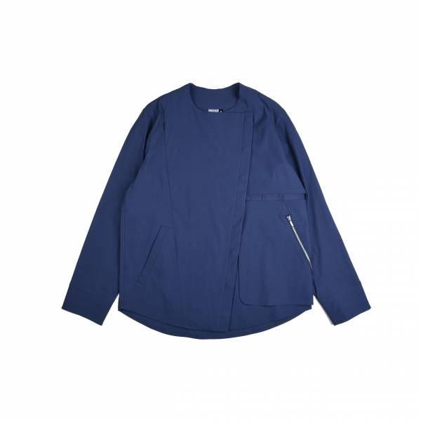oqLiq 2020AW - omni direction - resemble shirt II - blue