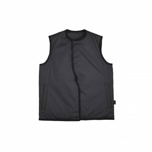 oqLiq 2020AW - omni direction - tai chi line vest - black