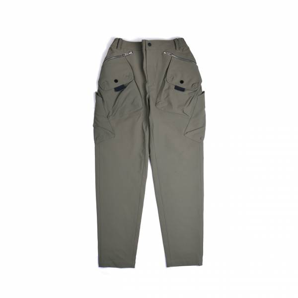 oqLiq 2020AW - omni direction - tai chi pocket shift pants - olive