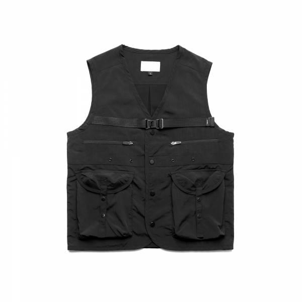 oqLiq 2021SS - natural blessing - gen vest - black