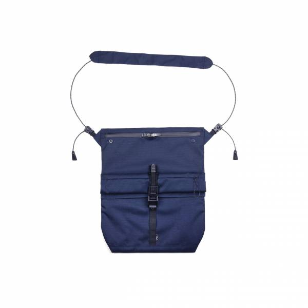 oqLiq 2021SS - natural blessing - side sacoche bag - navy