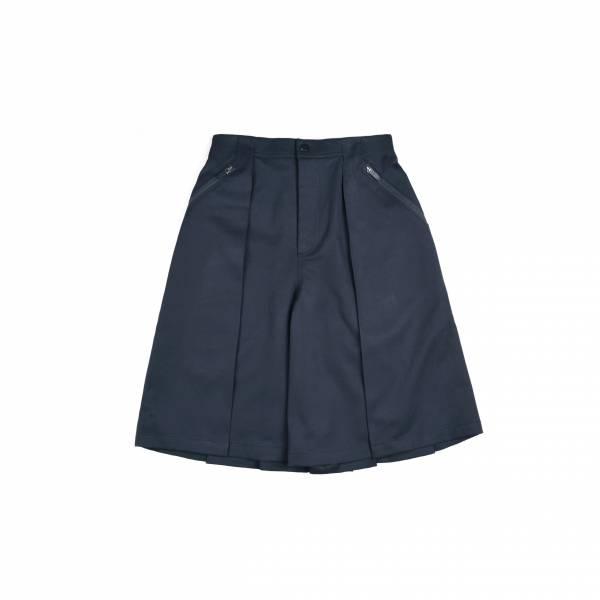oqLiq 2021SS - natural blessing - sixteen hakama shorts - black