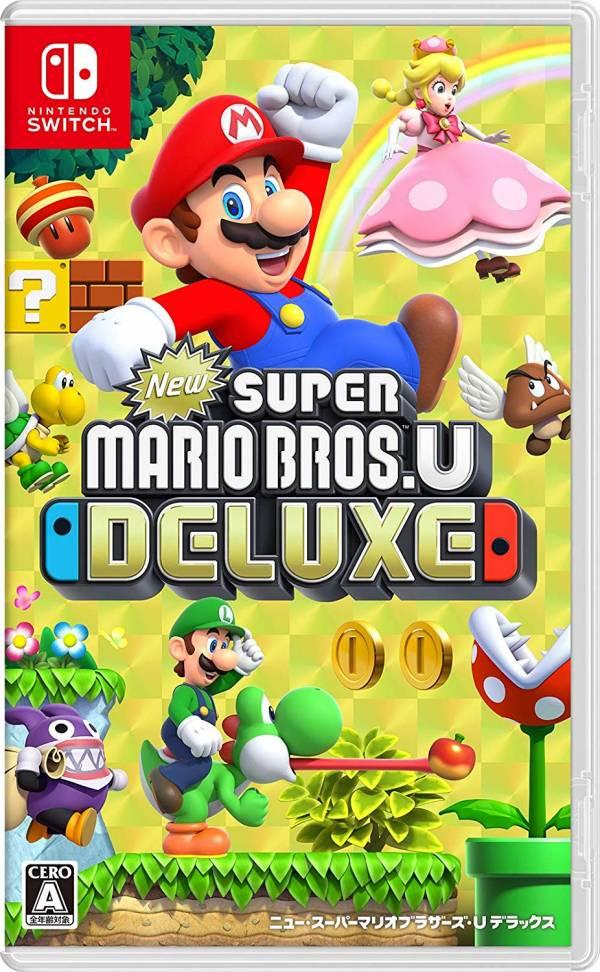 全新 NS 原版遊戲, New 超級瑪利歐兄弟 U 豪華版 日版包裝中文版, 無贈品
