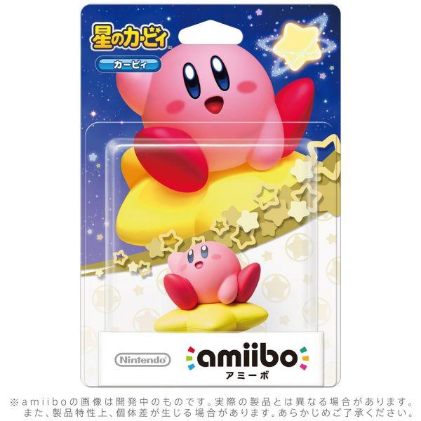 全新任天堂明星 NFC 連動人偶玩具 amiibo, 卡比 (星之卡比系列)(不含遊戲片)