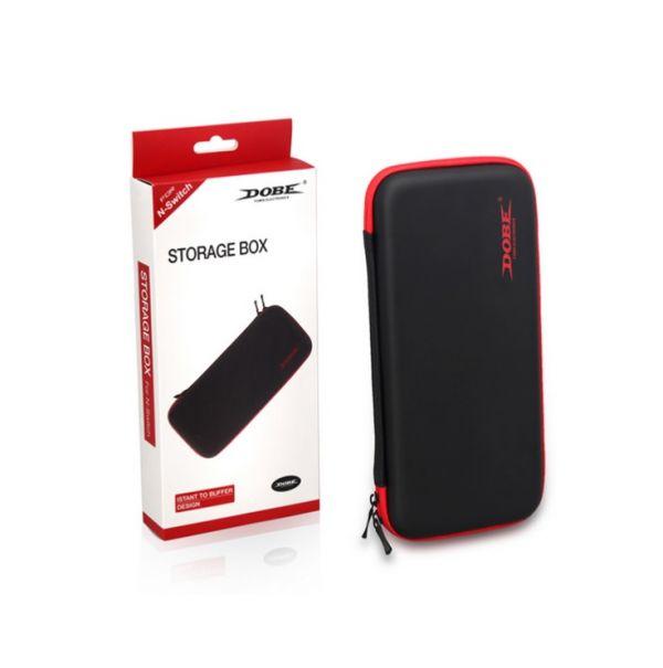 全新 DOBE 牌 Switch 大台主機用攜帶款收納硬殼包 黑色款(TNS-858)