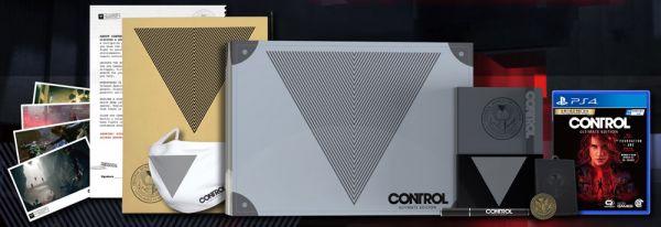 全新 PS4 原版遊戲片, 控制 CONTROL 終極版 中英文限定版