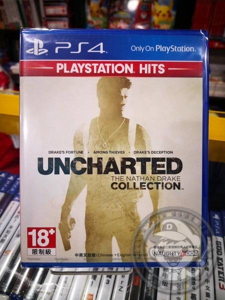 全新最佳精選 PS4 原版遊戲片, 秘境探險:奈森‧德瑞克合輯 中英文合版
