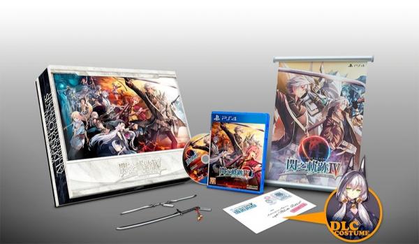 全新 PS4 原版遊戲片, 英雄傳說 閃之軌跡 IV 中文精裝珍藏版