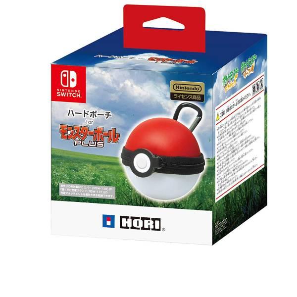日本原裝進口 HORI 牌 精靈球 PLUS 寶貝球專用造型款收納包 NSW-143, 不含精靈球控制器