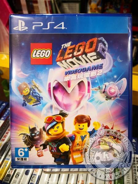全新 PS4 原版遊戲片, 樂高玩電影 2 中文一般版