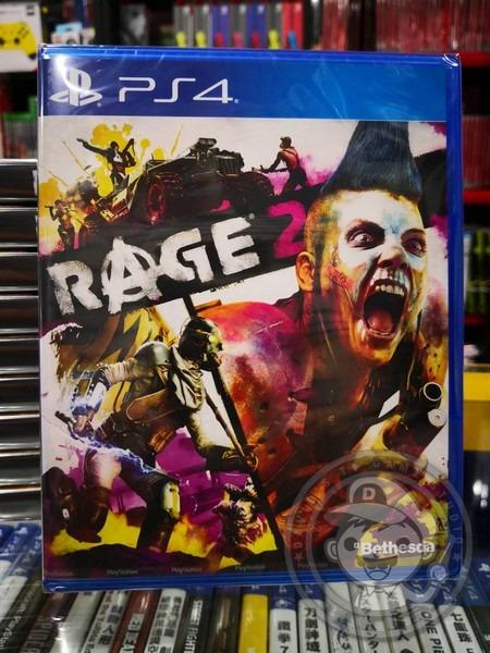 全新 PS4 原版遊戲, 狂怒煉獄 2 中文一般版, 附首批特典DLC 貼在包裝背面