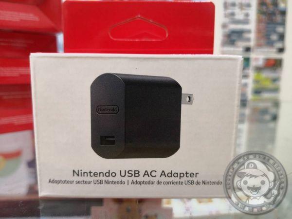 全新原廠任天堂 AC USB 變壓器
