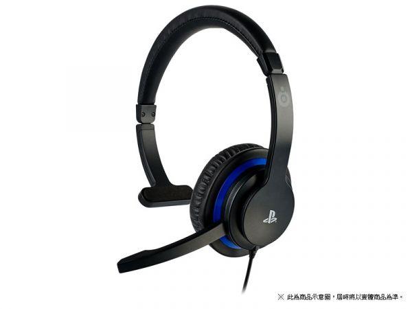 全新 SONY 授權 PS4 或電腦用 BIGBEN:MONO 單邊頭戴式有線通話耳機