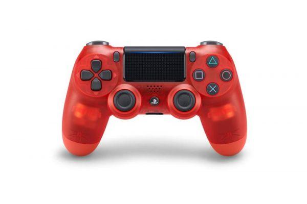 全新台灣 SONY 公司貨 PS4 DUALSHOCK 4 新款無線控制器(水晶紅)