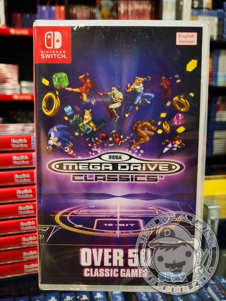 全新 NS 遊戲卡帶, SEGA Mega Drive Classics 英文版(沒出中文喔)