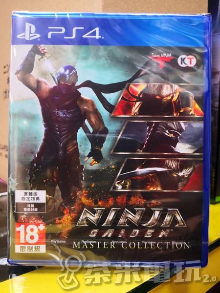 全新 PS4 原版遊戲片, 忍者外傳:大師合輯 中英文合版
