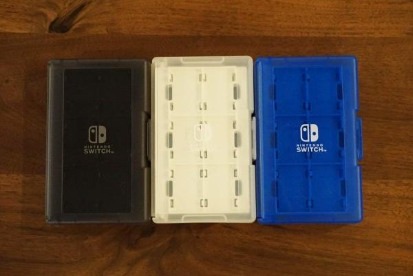 全新日本 HORI 牌 24 片裝 Switch 卡帶收納盒, 三色可選