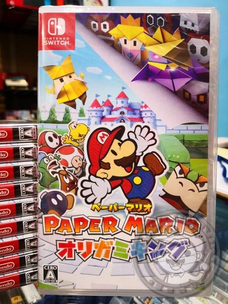 全新 Switch 原版遊戲卡帶, 紙片瑪利歐:摺紙國王 純日版