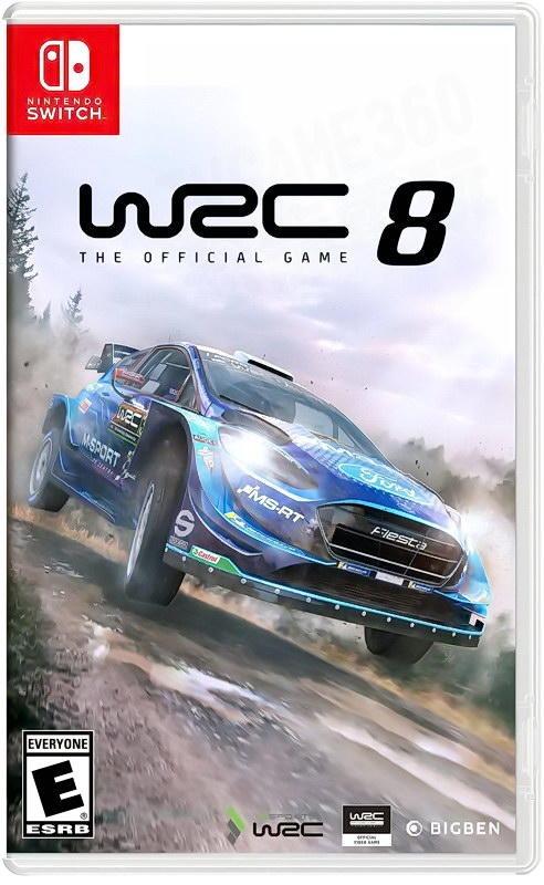 預購 全新 NS 原版遊戲片, WRC 世界越野冠軍賽 8 中文一般版 [預計2019年09月某日上市]
