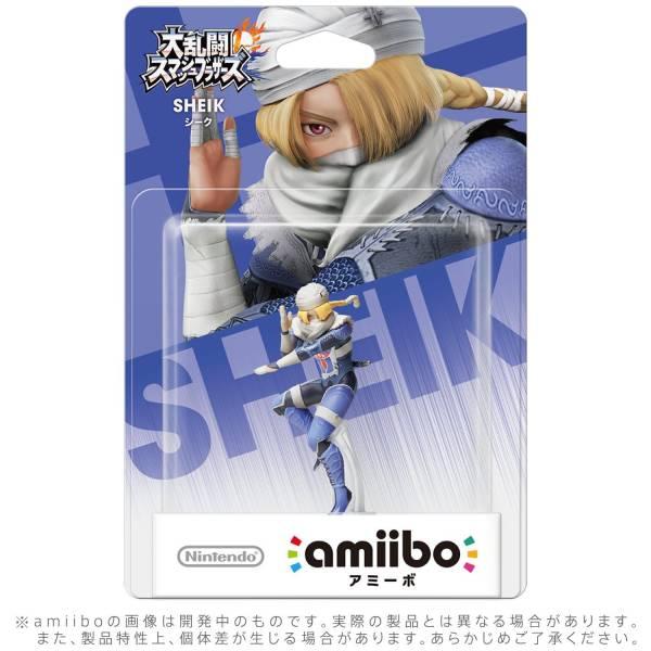 全新任天堂明星 NFC 連動人偶玩具 amiibo, 大亂鬥 席克 款(不含遊戲片)