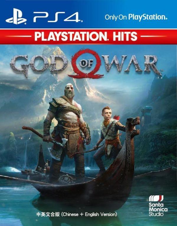 特價片 全新 PS4 原版遊戲片, 戰神 中文版(PlayStation Hits)