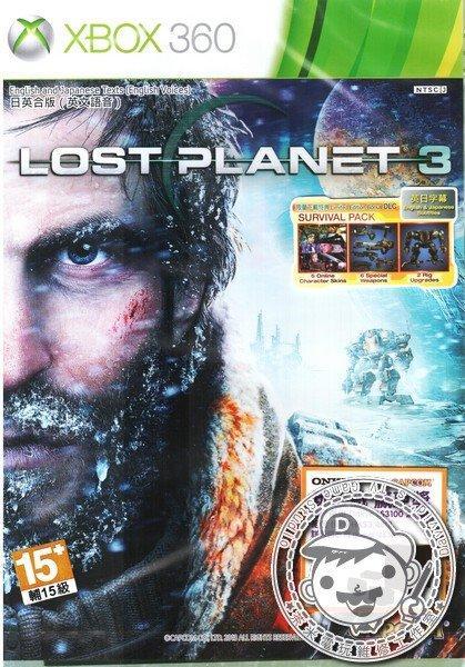 出清 全新 XBOX360 原版遊戲片, 失落的星球 3 英文亞版