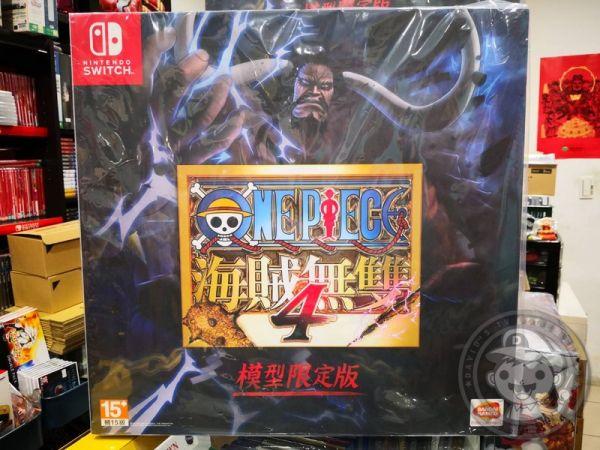 全新 Switch 原版遊戲片, 航海王:海賊無雙 4 中文限定版